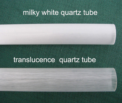 Opaque Quartz Tube and Translucence Quartz Tube