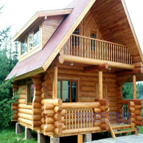 Log Wooden House