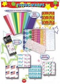 Color Gift Tissue Paper (Подарочные цвета оберточной бумаги)
