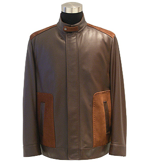 Men`s Lamb Leather Jacket