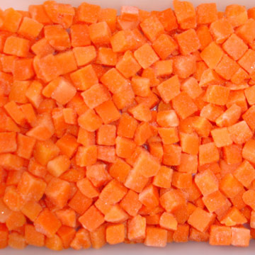 IQF Diced Carrot (IQF кусочки моркови)