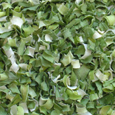 Dehydrated Leek Flakes 10x10mm, Green/White