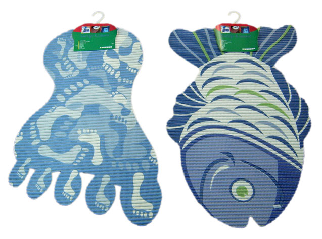 Foot & Fish Design Mat (Foot & рыб Дизайн Матем)