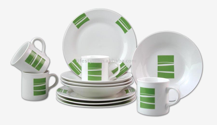 12pcs Porcelain Dinner Set