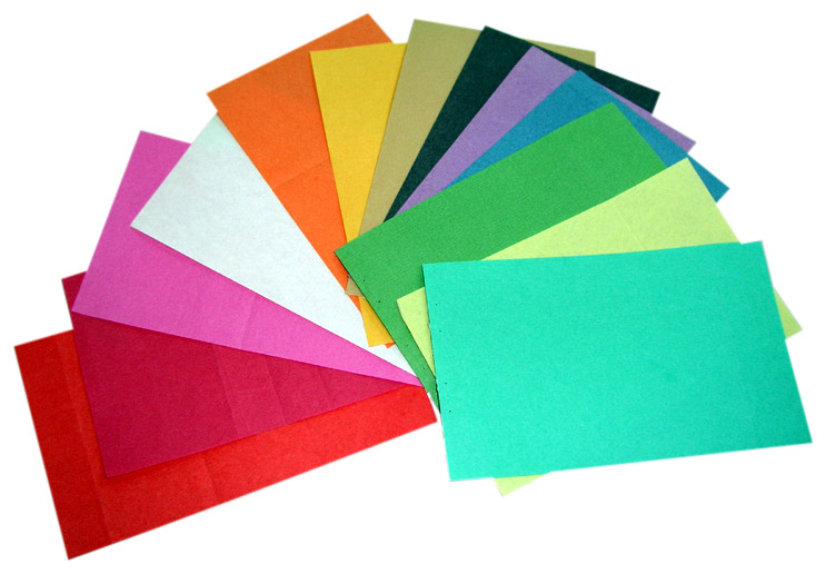 Colored Covering Paper