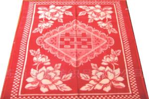 Recycled Jacquard Woven Blanket (Восстановленный ЖАККАРДОВЫЕ Одеяло)