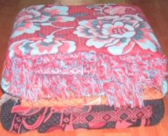 Cotton Thread Jacquard Blanket (Хлопчатобумажная нить жаккард Одеяло)
