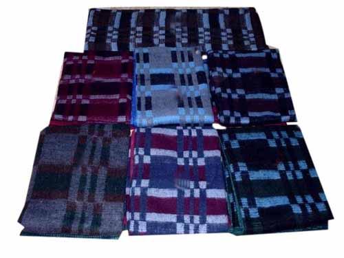 Recycled Acrylic Grid Blanket (Восстановленный Акриловые сетку Одеяло)