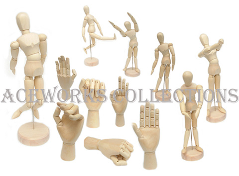 Wood Manikin & Hand Craft (Wood & Manikin Hand Craft)