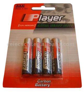 AAA Carbon Extra Heavy Duty Battery (AAA углерода Extra Heavy Duty Аккумулятор)