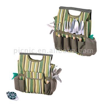Garden Tools with Carrying Bag (Outils de jardin avec Sac de Transport)