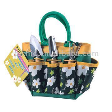 Outils de jardin avec Sac de Transport (Garden Tools with Carrying Bag)