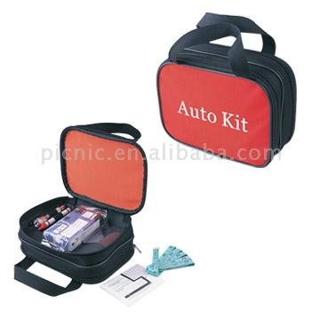 Auto Aid and First Aid 2-in-1 Kits