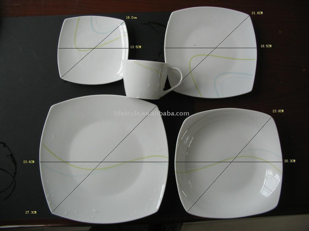 Solid Color Dinnerware (Solid Color Посуда)