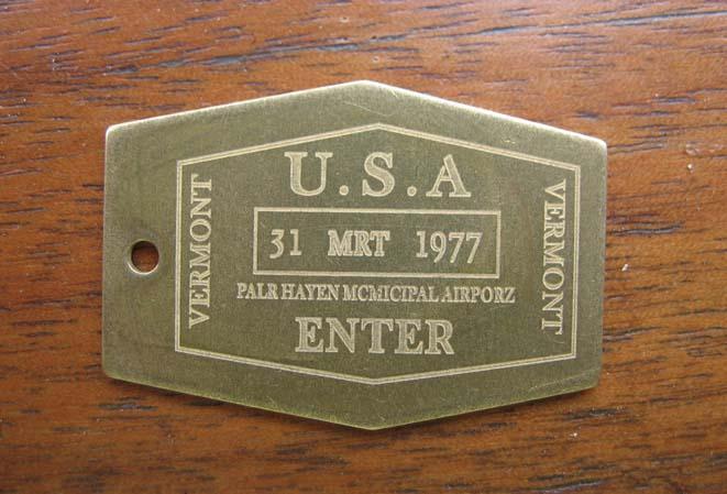 Laser Labeling nameplate