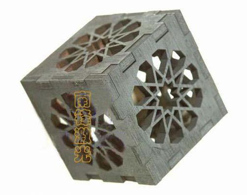 Laser Carving Wooden Craft (Лазерная вырезанные из дерева Craft)