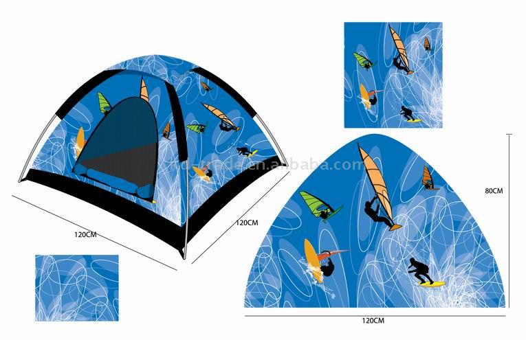 Kids` Printing Tent (Печать Детские палатки)