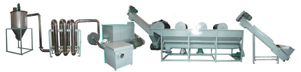 HDPE/PP Film Washing Machine (HDPE / PP Film Waschmaschine)
