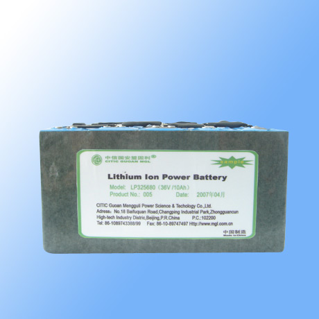 36V/10Ah Li-Ion Power Battery (36V/10Ah Li-Ion аккумулятор Power)