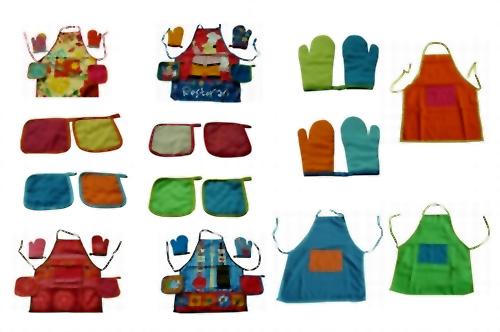 Kitchen Textile (Apron-Mitten-Glove) (Текстиль для кухни (фартук-Варежки-перчатки))