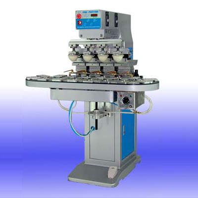 Four-Color Pad Printer With Conveyor (Полноцветных принтеров Pad с конвейерным)