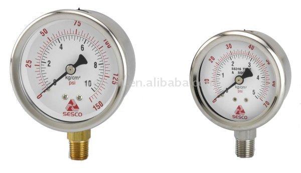 Scuba High Pressure Liquid Filled Gauge (Scuba высокоэффективной жидкостной Заполненные Калибровочная)