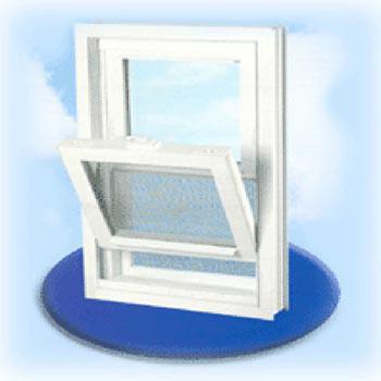 PVC Double Hung Window Profile (PVC Double Hung Window profil)