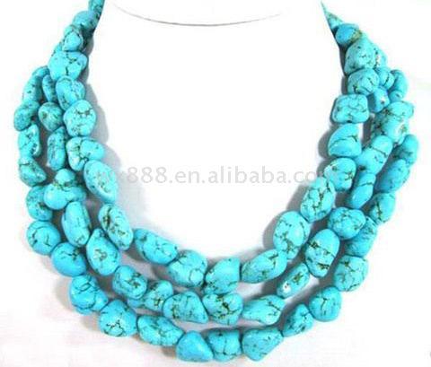 Turquoise Necklace (Бирюзовые ожерелье)