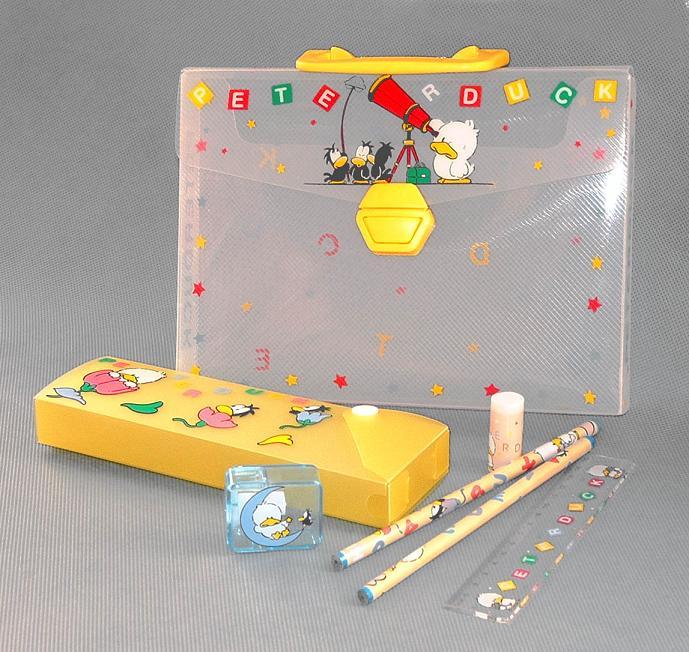 Stationery Box with Handle (Канцелярские Коробка с ручкой)
