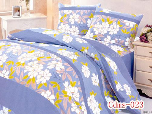 Embroidered Quilted Bedding
