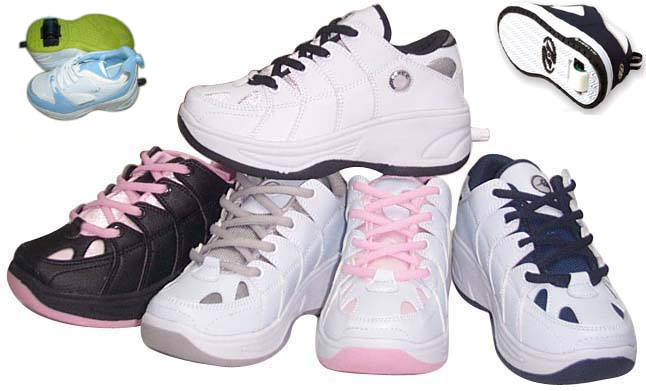 Skateboard Shoes With Roller (Скейтборд обувь с роликовыми)