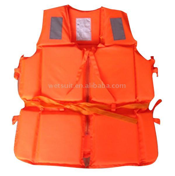 Marine Worker Life Jacket (Морской спасательный жилет работника)