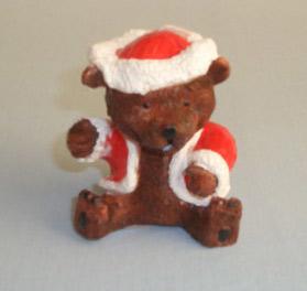 Christmas Bear Candle (Рождественская свеча медведь)