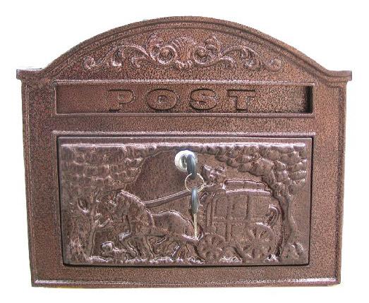 JHC-2061 Cast Aluminium Mailbox (JHC 061 литых алюминиевых ящиков)