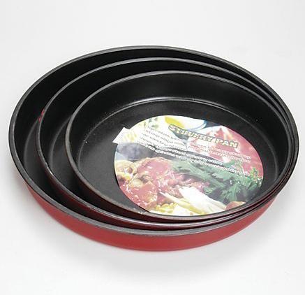 3pc Non-Stick Bundt Pan Set (3pc Non-Stick Pan Bundt Установить)