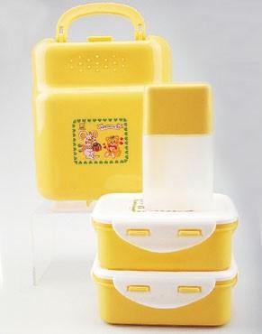 4pc Lunch Kit Box (4pc Обед Чемодан)