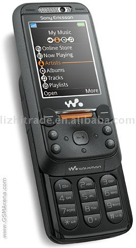 W850i UMTS2100/900/1800/1900 for Europe, Middle East, Africa