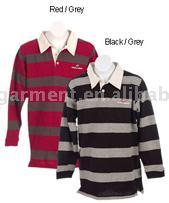Long Sleeve Rugby Shirt (С длинным рукавом Рубашка Регби)