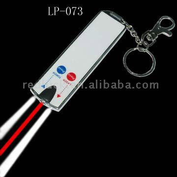 Novel Card Laser/Card Torch/Card Keychain