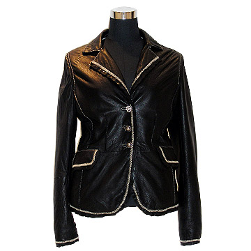 Woman`s Leather Coat
