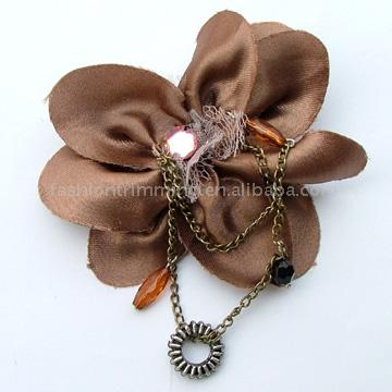 Flower Shaped Costume Brooch (Flower Shaped Kostüm Brosche)