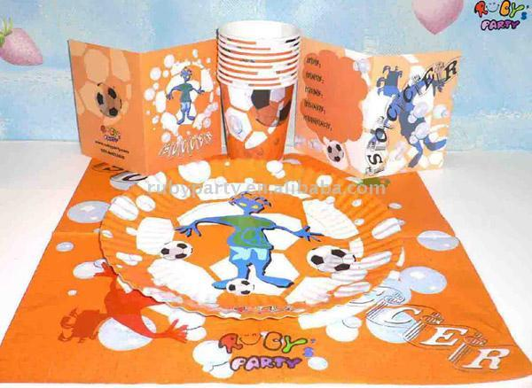 Theme Party Set (Soccer Kid) (Тема партия поставила (Футбол Kid))