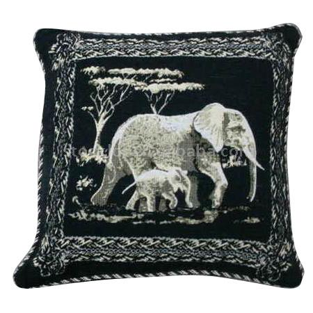 Stock Jacquard Animal Print Pillow
