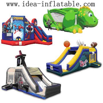 Inflatable Slide & Castles (Надувная Авто & замки)
