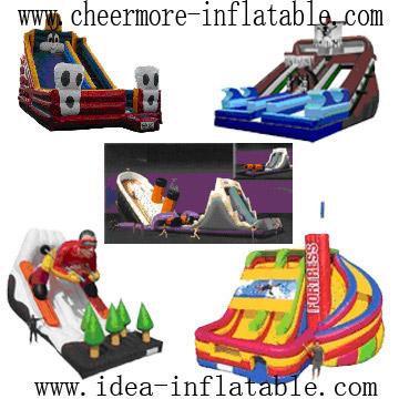 Inflatable Slide (Надувная Авто)