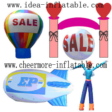 Inflatable Promotions, Balloons, Sky Dancers, Mascots