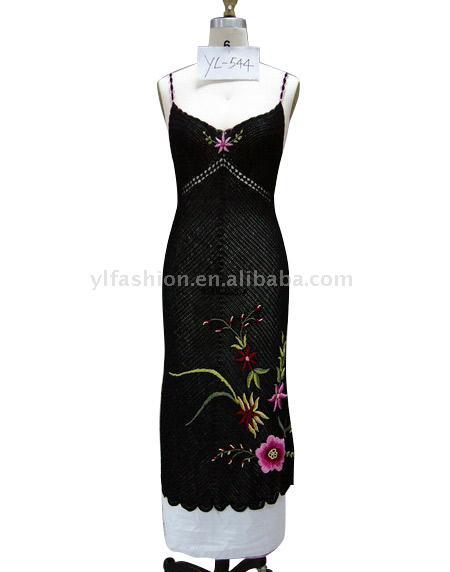 платье - вязание крючком на kru4ok.ru