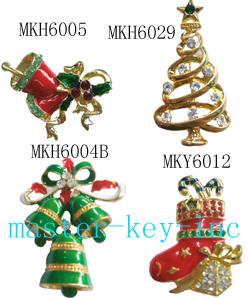 Fashion Christmas Bell, Socken und Tree Brosche (Hot-ing) (Fashion Christmas Bell, Socken und Tree Brosche (Hot-ing))