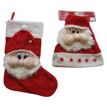 Christmas Hat and Stocking (Рождественские Hat и Учет)