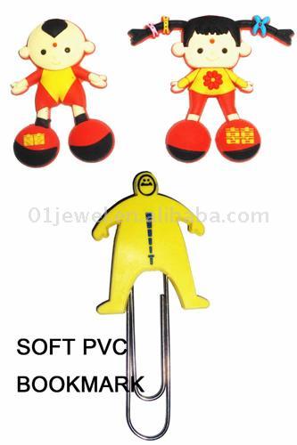 Soft PVC Bookmark (Мягкий ПВХ Закладка)